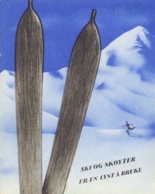 Ski og skøyter er en lyst å bruke.   [ ]