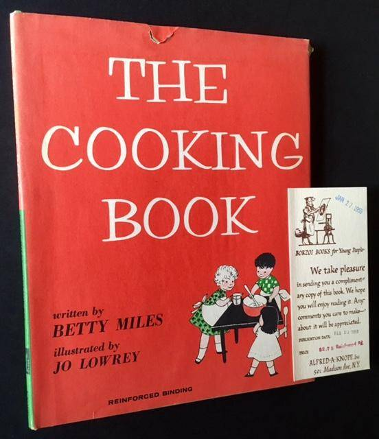 The Cooking Book (Review Copy) Betty Miles [Near Fine] [Hardcover]