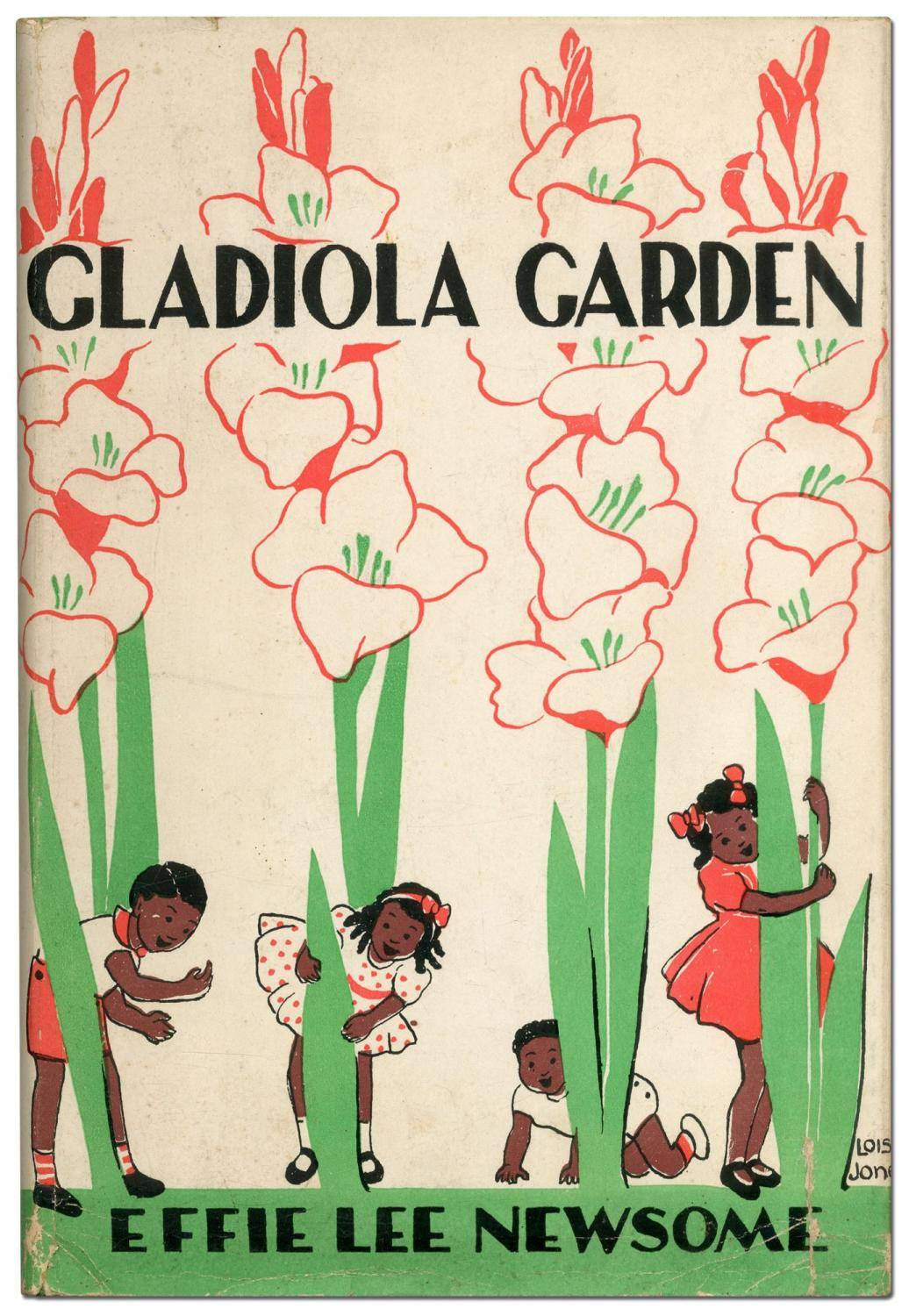 Gladiola Garden: Poems of Outdoors and Indoors for Second Grade Readers NEWSOME, Effie Lee (JONES, Lois Mailou) [Fine] [Hardcover]