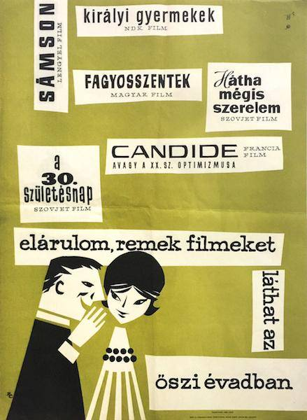 I tell you, you can see some great movies in the fall season - New Autumn feature films 1962 Zelenák, Crescencia [ ] [Hardcover]