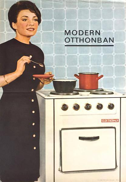 In the modern home - Stove - Household appliances   [ ] [Hardcover]