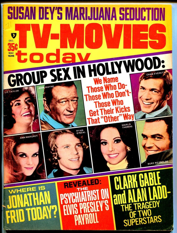 TV-Movies Today 12/1971-AAA Mag-John Wayne-Marlo Thomas-Elvis-Susan Dey-FN   [Fine]