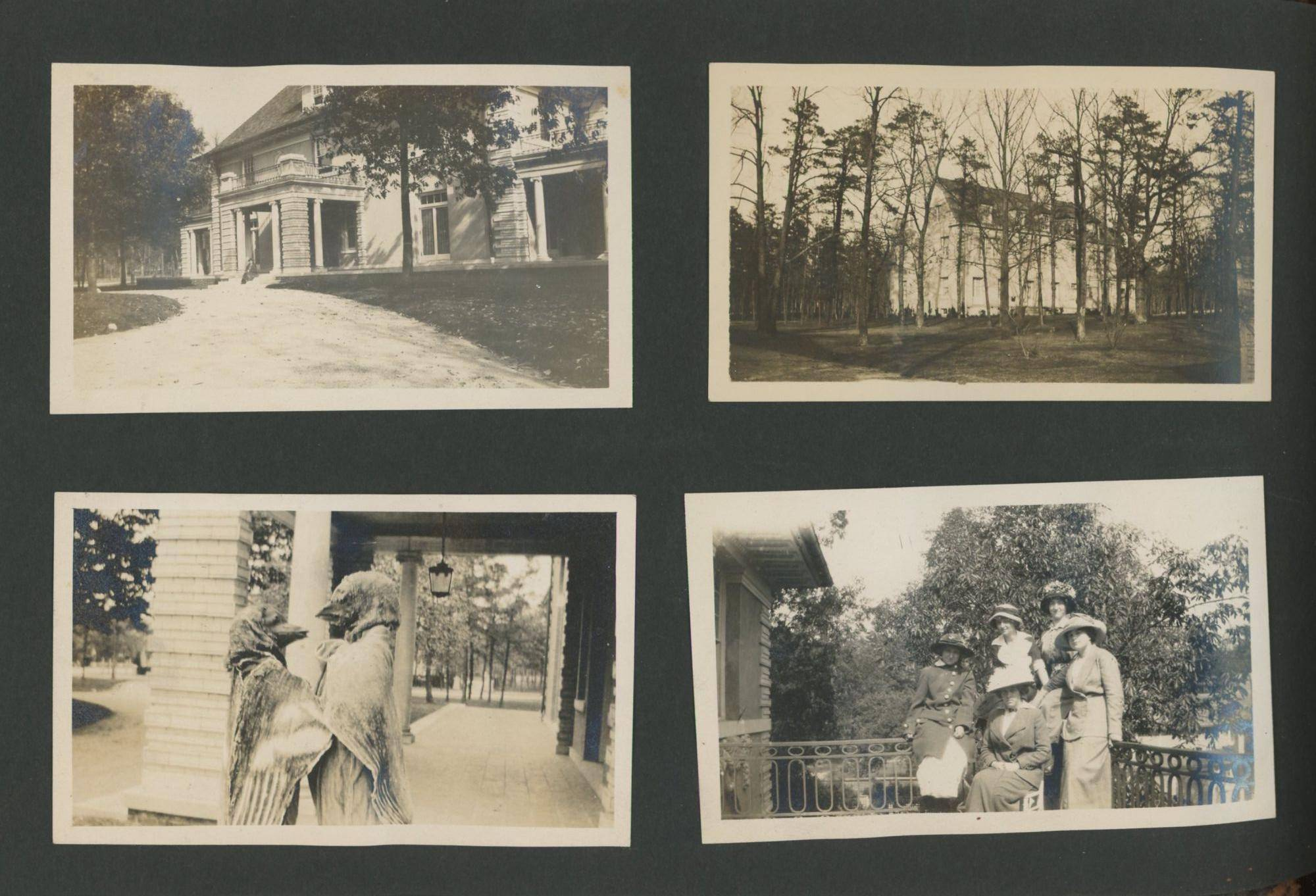 AFFECTIONATE WOMEN, OUTDOORS, SPORTS, AND COSTUMES 1910's PHOTO ALBUM   [ ]
