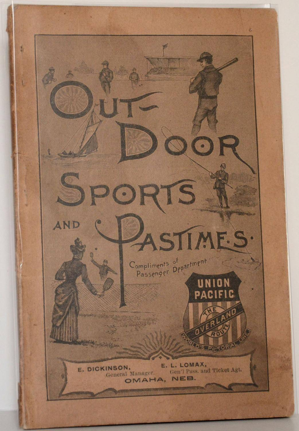 Outdoor Sports and Pastimes   [Near Fine] [Softcover]
