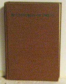 Accessories of Dress Katherine Morris Lester and Bess Viola Oerke [Very Good] [Hardcover]