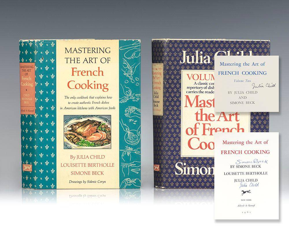 Mastering the Art of French Cooking: Volumes 1 & 2. Child, Julia; Beck, Simone; & Bertholle, Louisette [ ] [Hardcover]