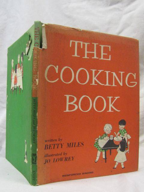 The Cooking Book Miles, Betty [ ] [Hardcover]