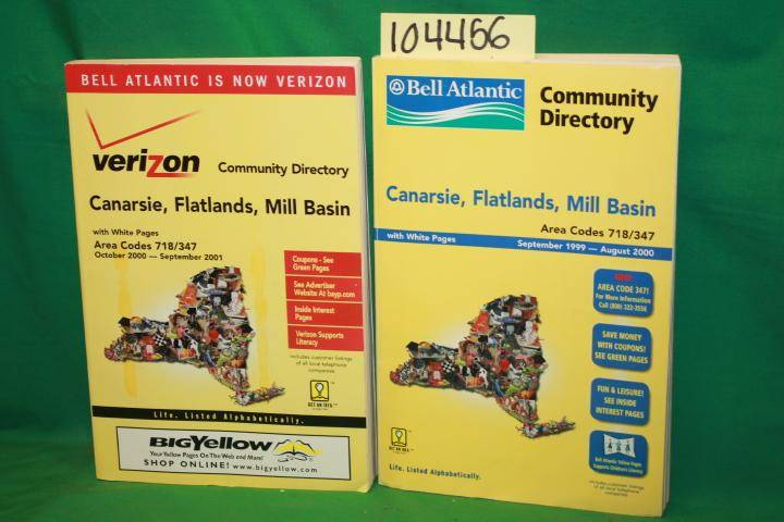 Bell Atlantic Community Directory: Canarsie, Flatlands, Mill Basin yellow page phone book Bell Atlantic [Very Good] [Softcover]