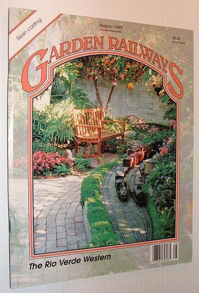 Garden Railways Magazine, August 1995 Contributors, Multiple [Good] [Softcover]