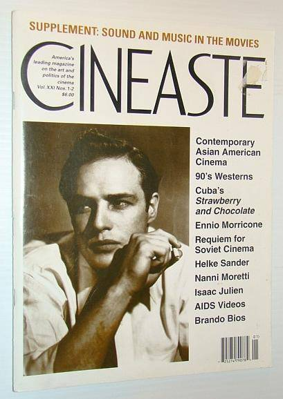 Cineaste - America's Leading Magazine on the Art and Politics of the Cinema, Vol. XXI Nos. 1-2 1995 - Sound and Music in the Movies Dowell, Pat; Mena