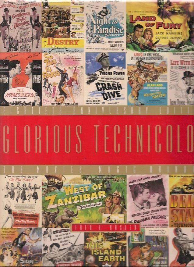 Glorious Technicolor the movies magic rainbow Fred Basten [New] [Hardcover]