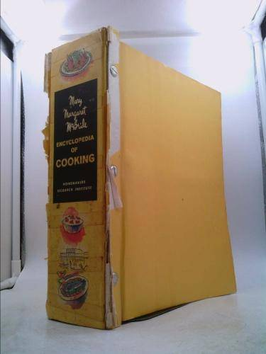Encyclopedia of Cooking Deluxe Ilustrated 12 SECTIONS IN 1 BOUND VOLUME McBride, Mary Margaret [Fair] [Hardcover]