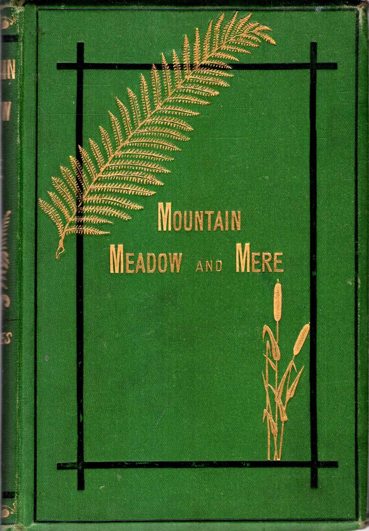 Mountain, Meadow, & Mere - a series of outdoor sketches of Sport, Scenery, Adventures, and Natural History Davies, G Christopher [Very Good] [Hardcov