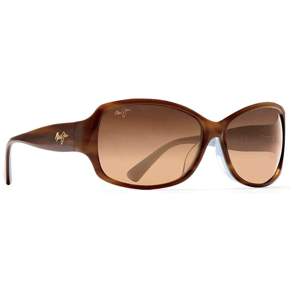Maui Jim Women's Nalani Polarized Sunglasses - One Size - Tortoise with White and Blue / HCL Bronze