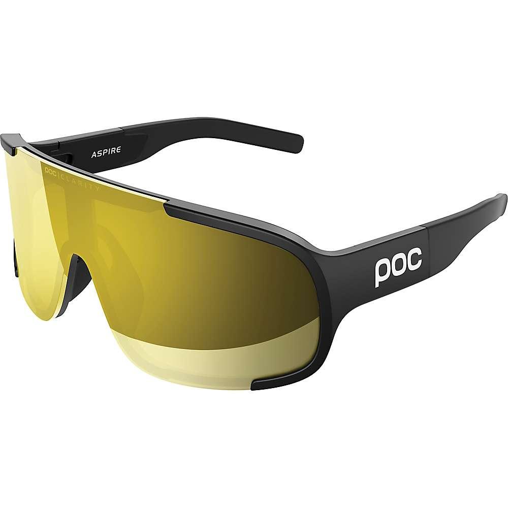 POC Sports Aspire Sunglasses - One Size - Uranium Black / Yellow