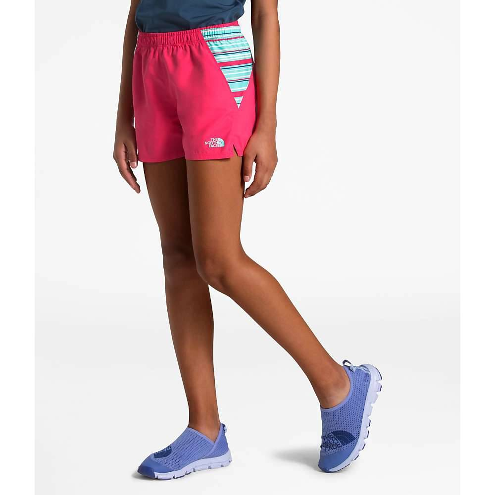 The North Face Girls' Class V Water 3 Inch Short - Medium - Atomic Pink