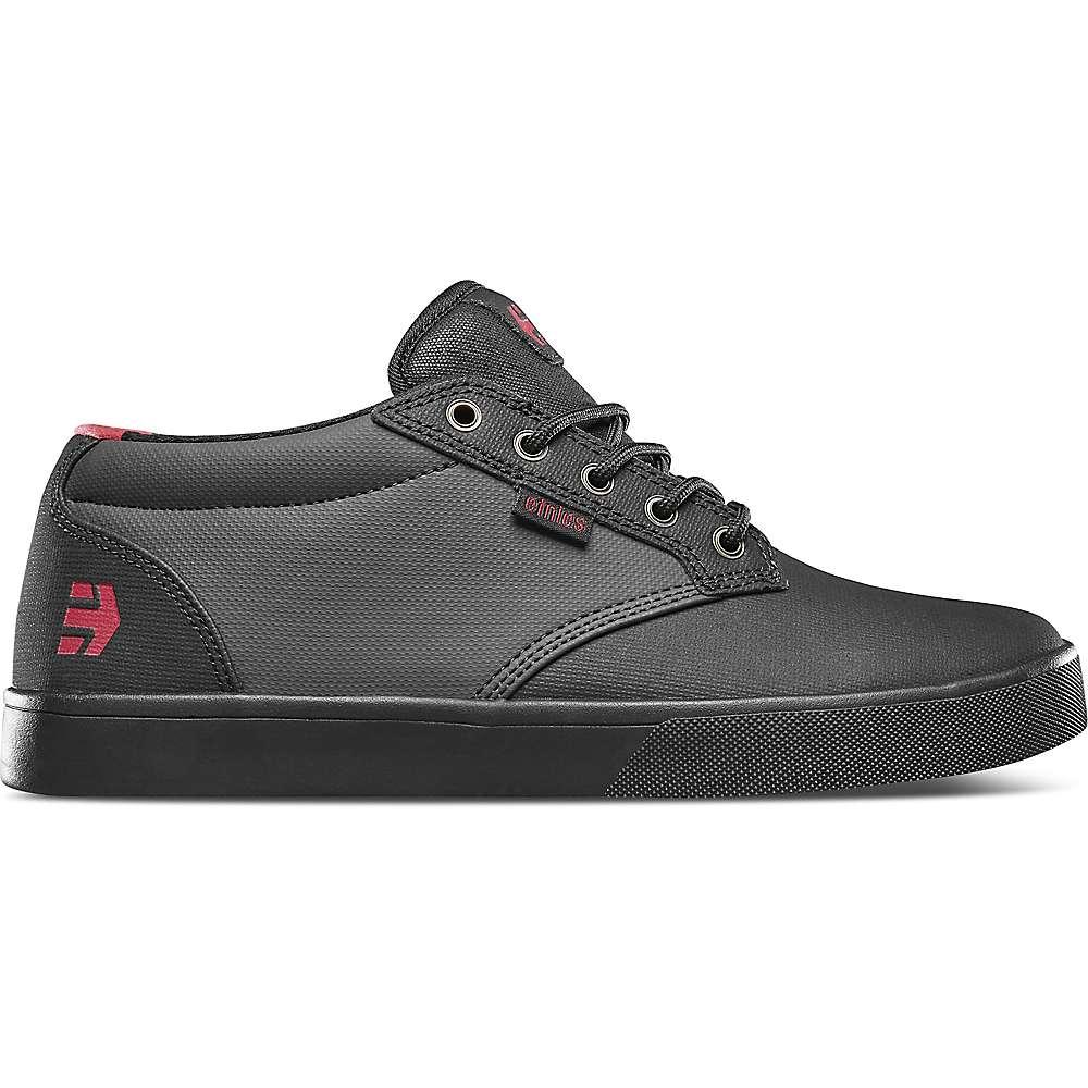 Etnies Men's Jameson Mid Crank Bike Shoe - 8 - Black/Dark Grey/Red