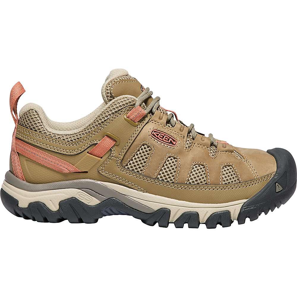 KEEN Women's Targhee Vent Breathable Low Height Hiking Shoes - 7.5 - Sandy / Cornstalk