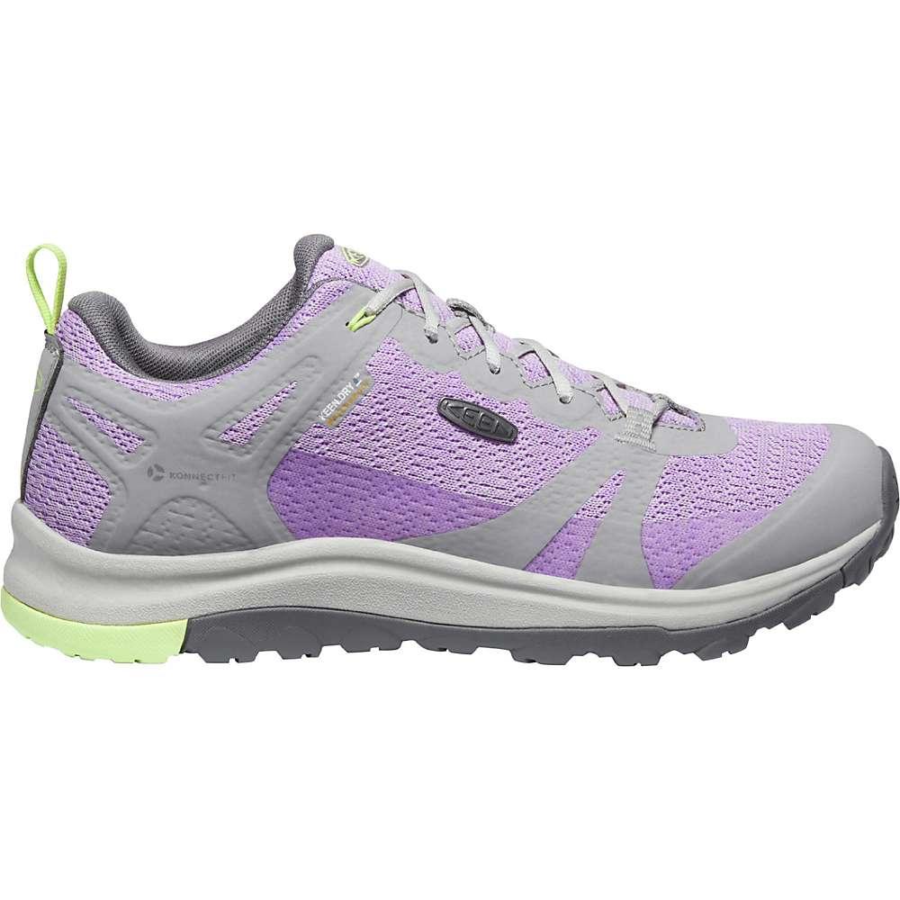 KEEN Women's Terradora 2 Low Height Waterproof Hiking Shoes - 7 - Drizzle / African Violet