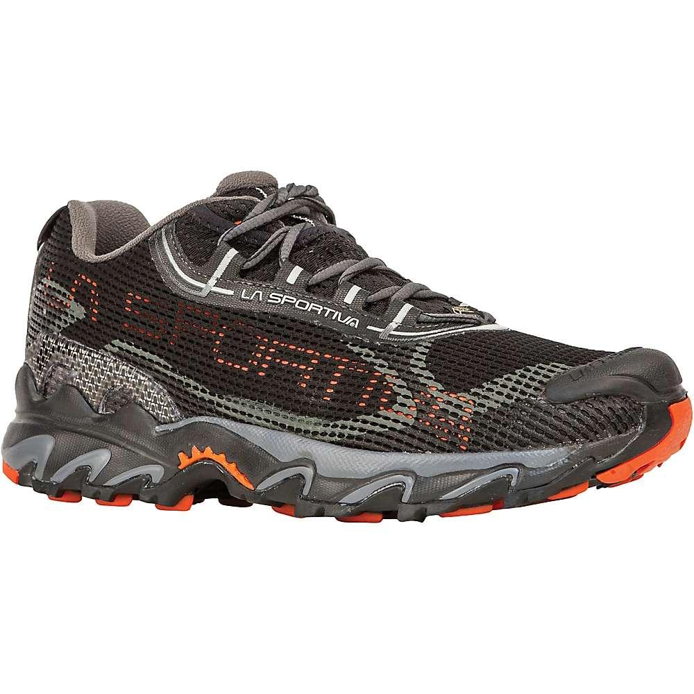 La Sportiva Men's Wildcat 2.0 GTX Shoe - 40.5 - Black / Pumpkin