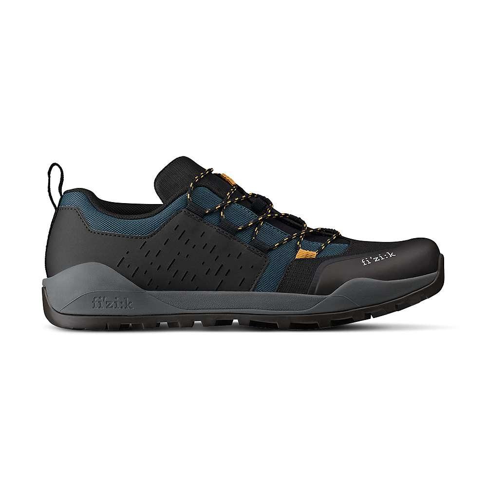 Fizik Terra Ergolace X2 Bike Shoe - 43 - Teal Blue / Black