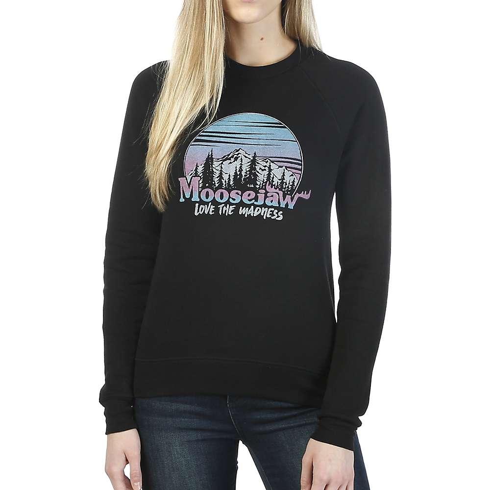 Moosejaw Women's Home Sweet Home Crew Neck Sweatshirt - Small - Black