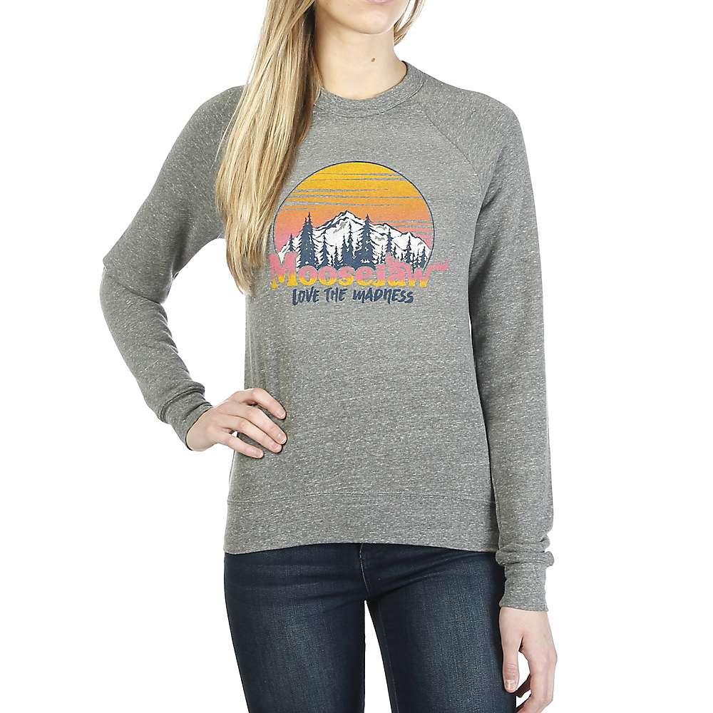 Moosejaw Women's Home Sweet Home Crew Neck Sweatshirt - Small - Heather Grey