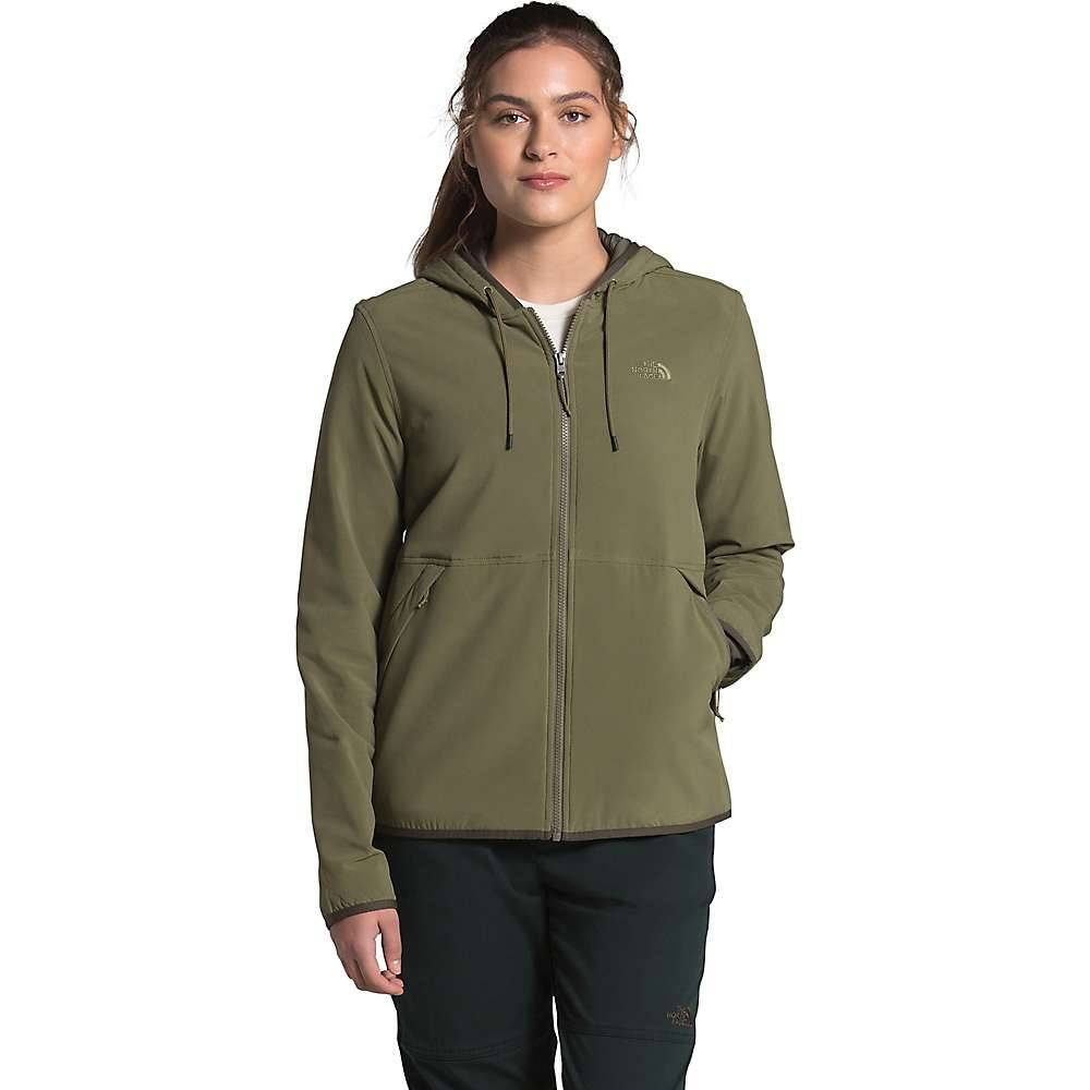 The North Face Women's Mountain Sweatshirt Hoodie 3.0 - XS - Burnt Olive Green
