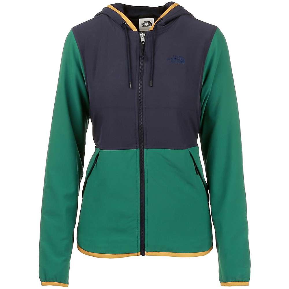 The North Face Women's Mountain Sweatshirt Hoodie 3.0 - Large - Aviator Navy / Evergreen