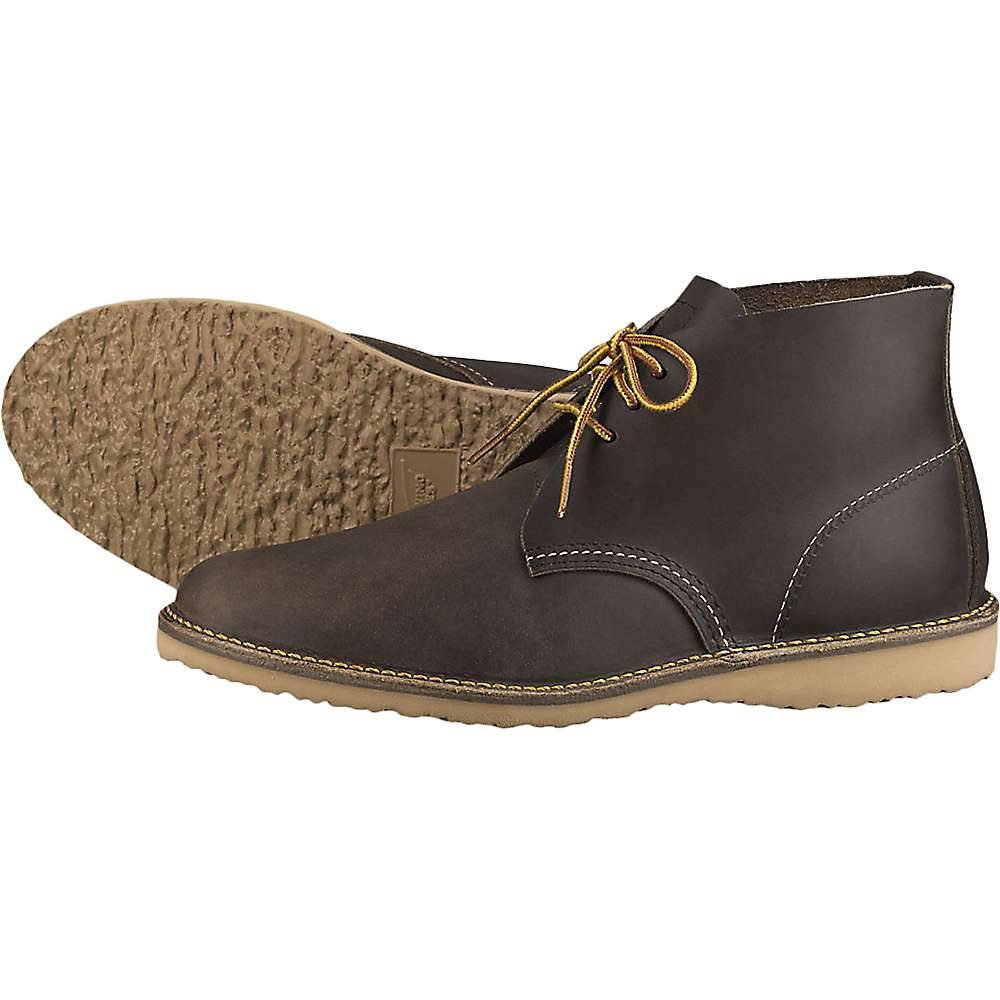 Red Wing Shoes Red Wing Heritage Men's 3324 Weekender Chukka - 11 - Concrete Rough And Tough