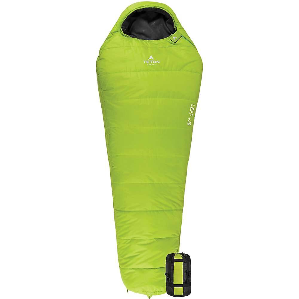 TETON Sports Leef +20 Ultralight Mummy Bag
