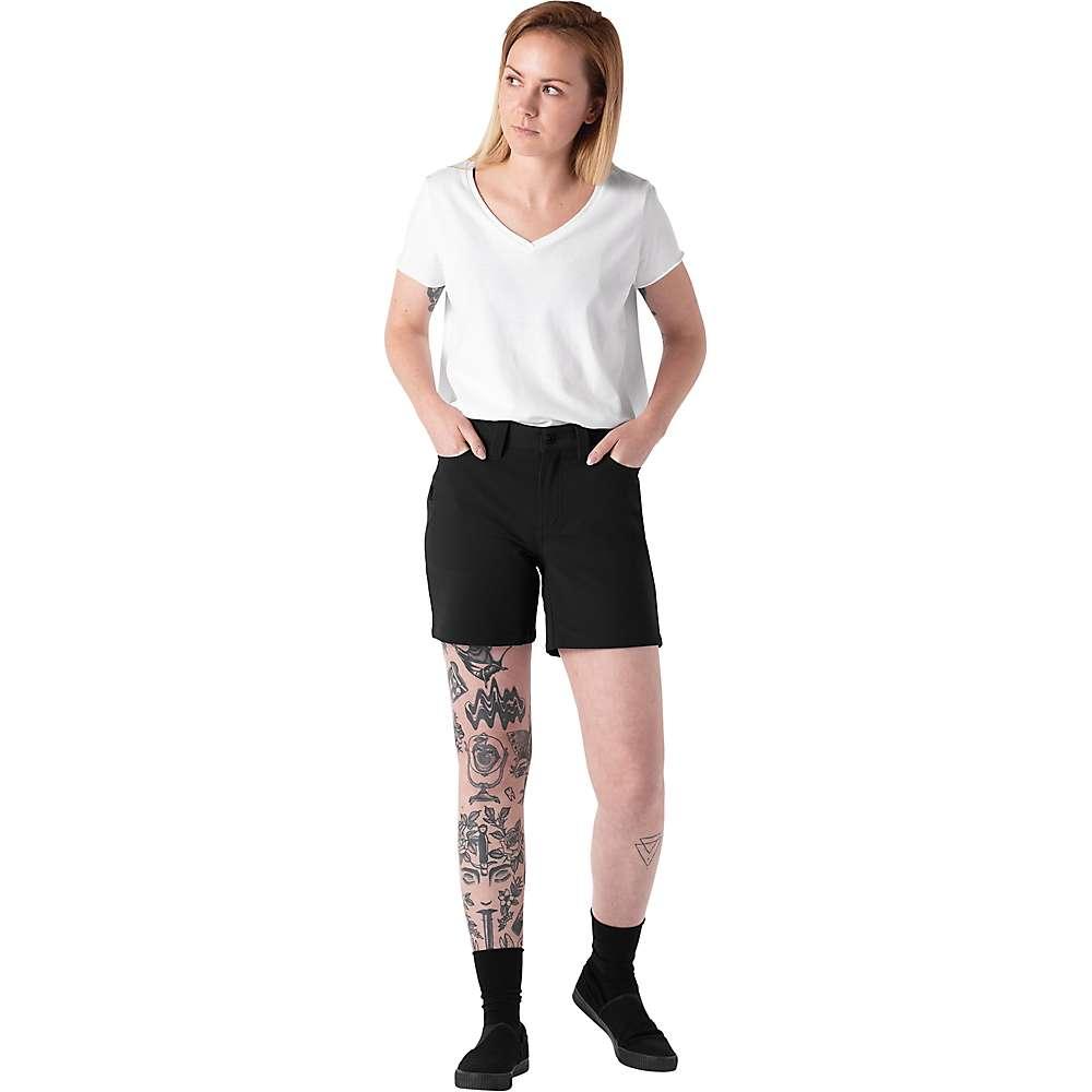 Chrome Industries Women's Anza Short - 6 - Black