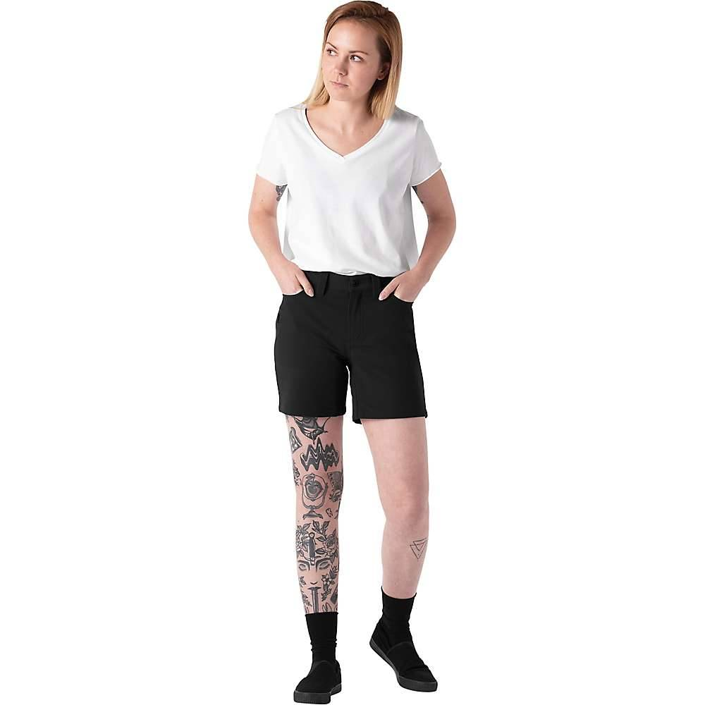 Chrome Industries Women's Anza Short - 12 - Black