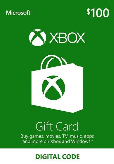 Microsoft Xbox Live Gift Card 100 USD Xbox Live Key UNITED STATES