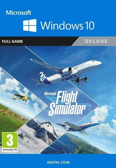 Xbox Game Studios Microsoft Flight Simulator: Deluxe Edition - Windows 10 Store Key UNITED STATES