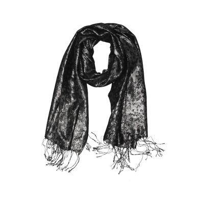 Bellissima Fashions Scarf: Silver Accessories