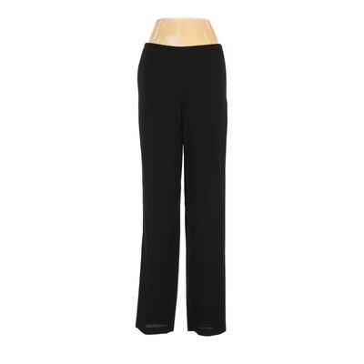 Clothes (real) Saks Fifth Avenue Casual Pants - High Rise: Black Bottoms - Size P
