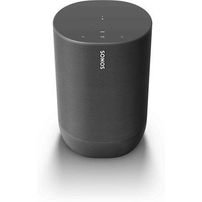 Sonos Move portable amplified wireless music player (black)