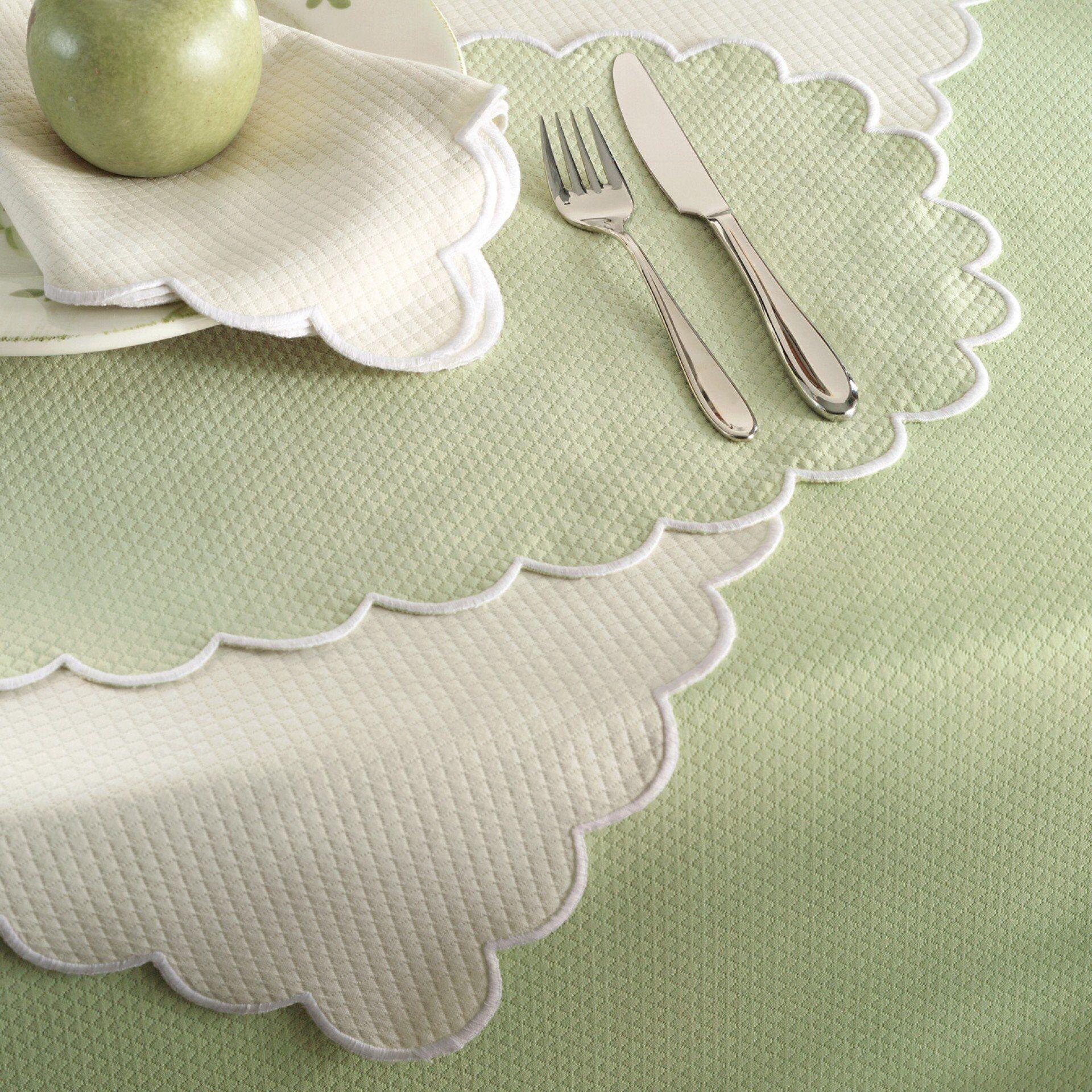 Matouk Savannah Gardens Round Tablecloths by Matouk