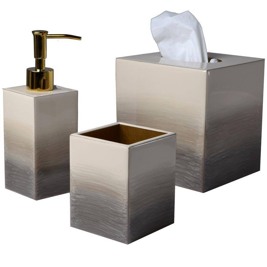 Mike + Ally Natural/Gold Ombre Bath Accessories by Mike + Ally