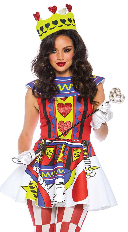 Leg Avenue Card Queen Costume by Leg Avenue, Size S - Yandy.com