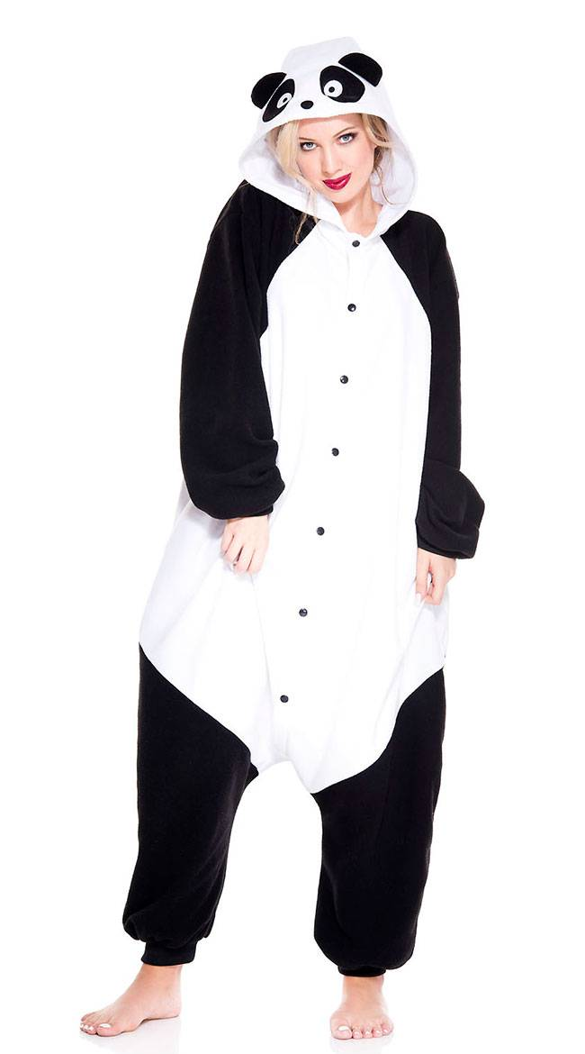 Music Legs Playful Panda Onesie Costume by Music Legs - Yandy.com