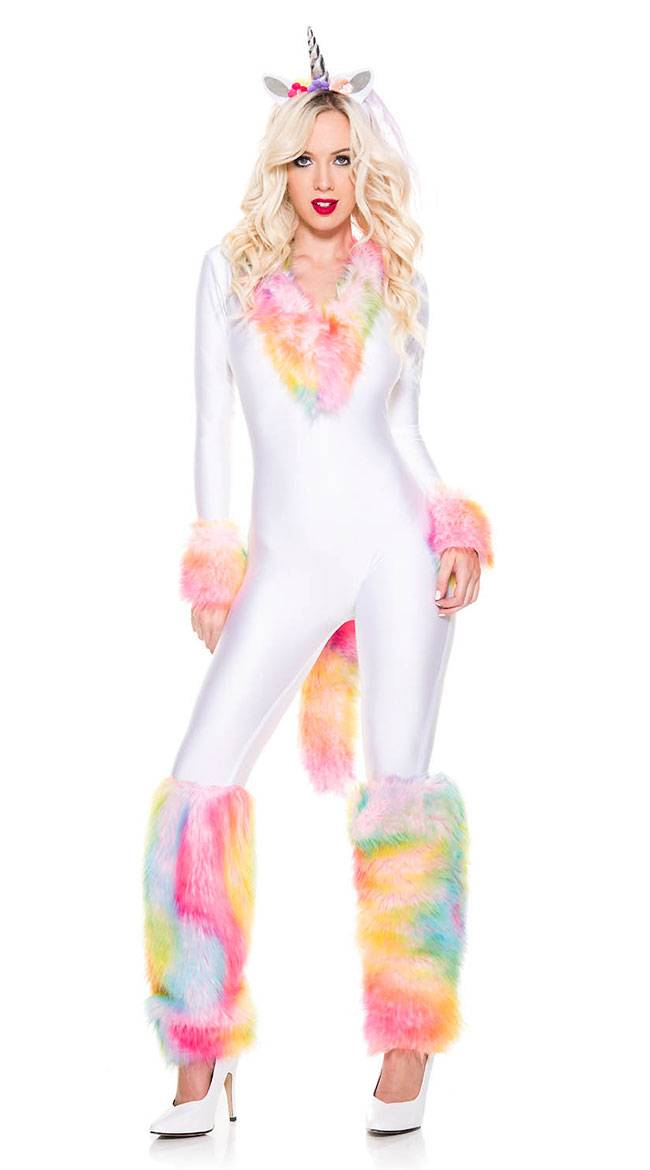 Music Legs Breathtaking Unicorn Costume by Music Legs, Size M/L - Yandy.com