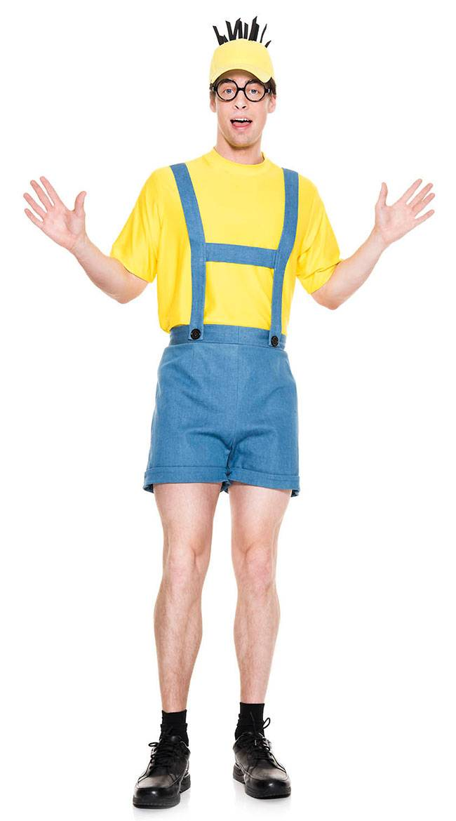 Music Legs Men's Despicable Human Costume by Music Legs, Size L - Yandy.com