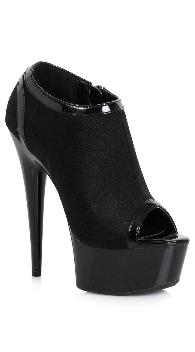 Ellie Shoes Life Of The Party Platform Heel by Ellie Shoes, Black, Size 8 - Yandy.com
