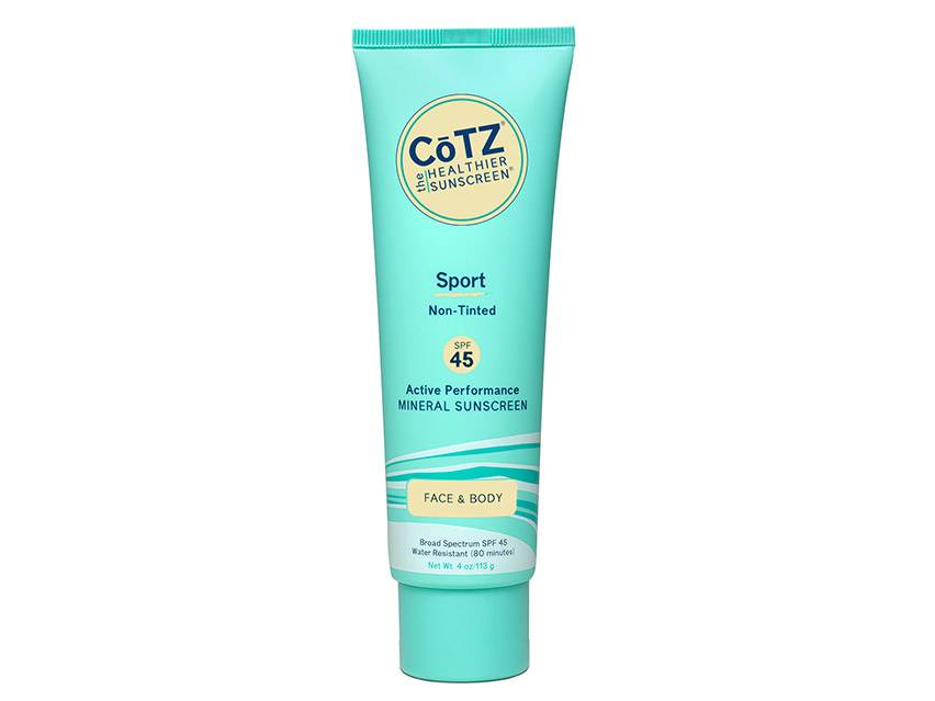 CoTZ Sport Active Performance Face & Body Mineral Sunscreen SPF 45
