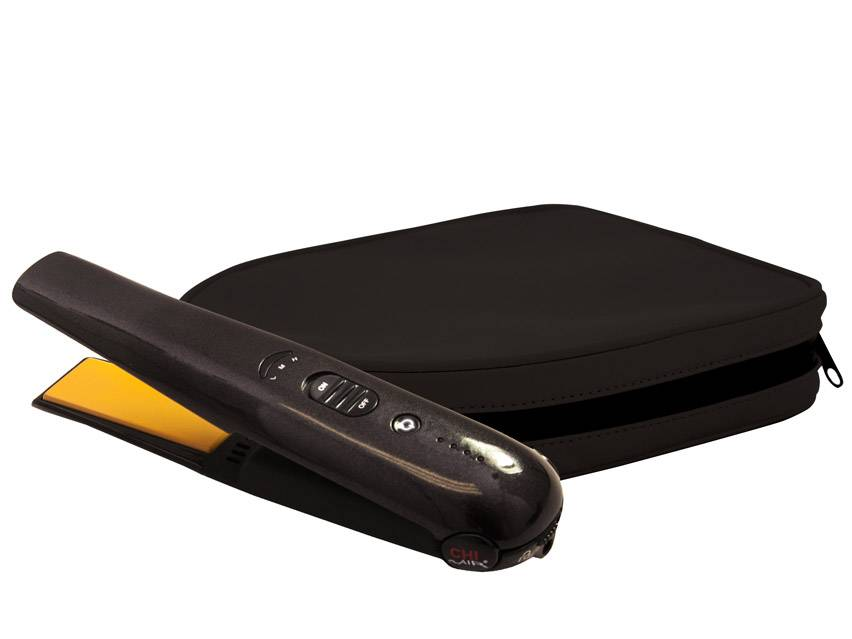 """CHI QUEST Classic Tourmaline Ceramic Cordless 1"""" Hairstyling Iron"""