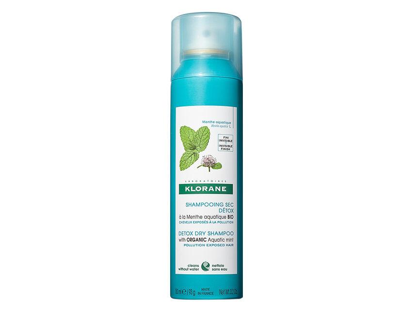 Klorane Detox Dry Shampoo with Aquatic Mint