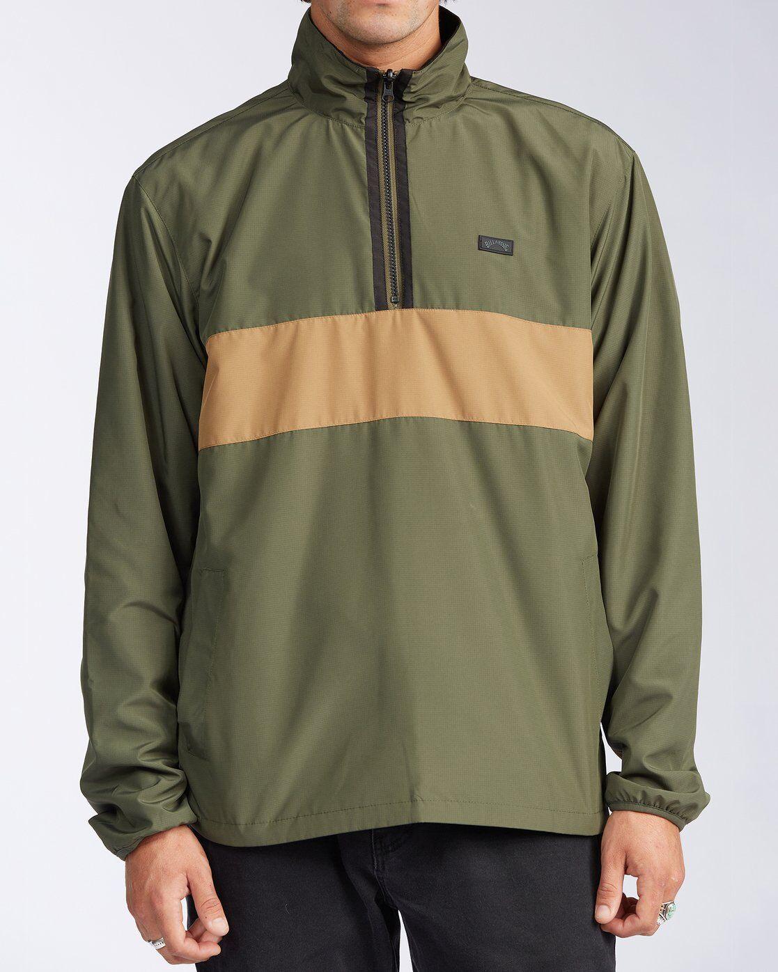 Billabong Highland Reversible Jacket  - Green - Size: Extra Large