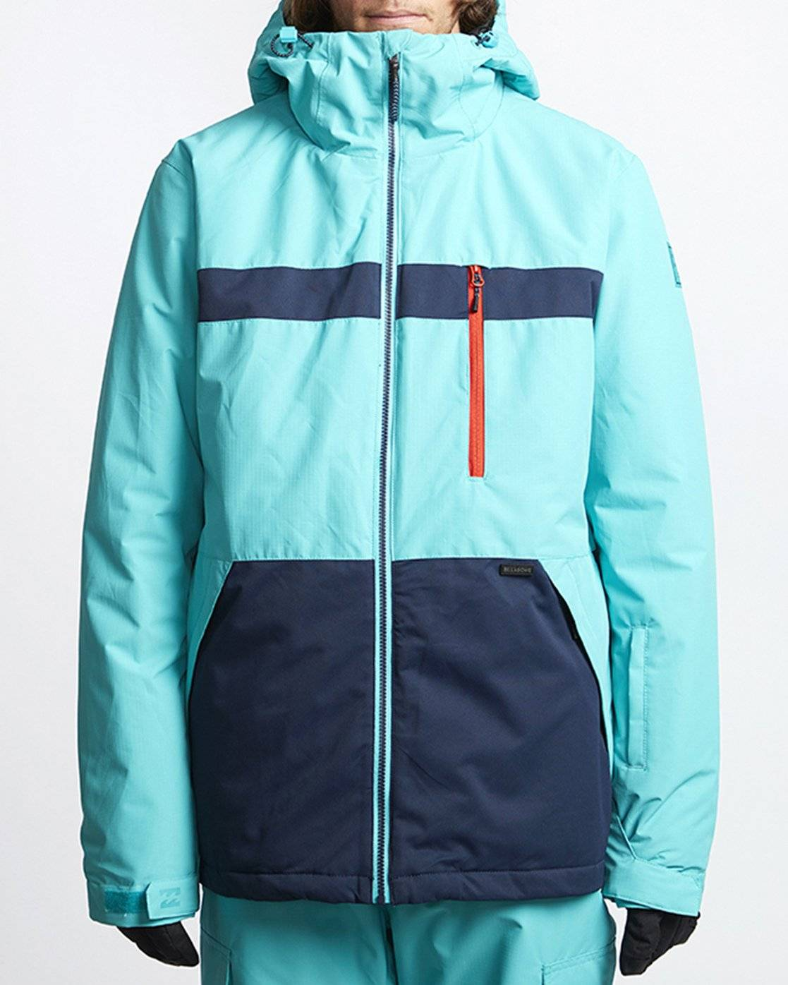 Billabong All Day Snow Jacket  - Blue - Size: Small